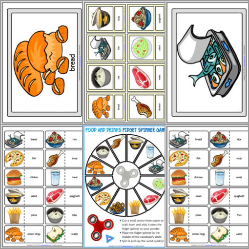 ESL Printable Flashcards and Game Cards for Kids