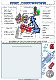 Paris France Printable Worksheets