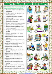 Used To ESL Printable Worksheets and Exercises